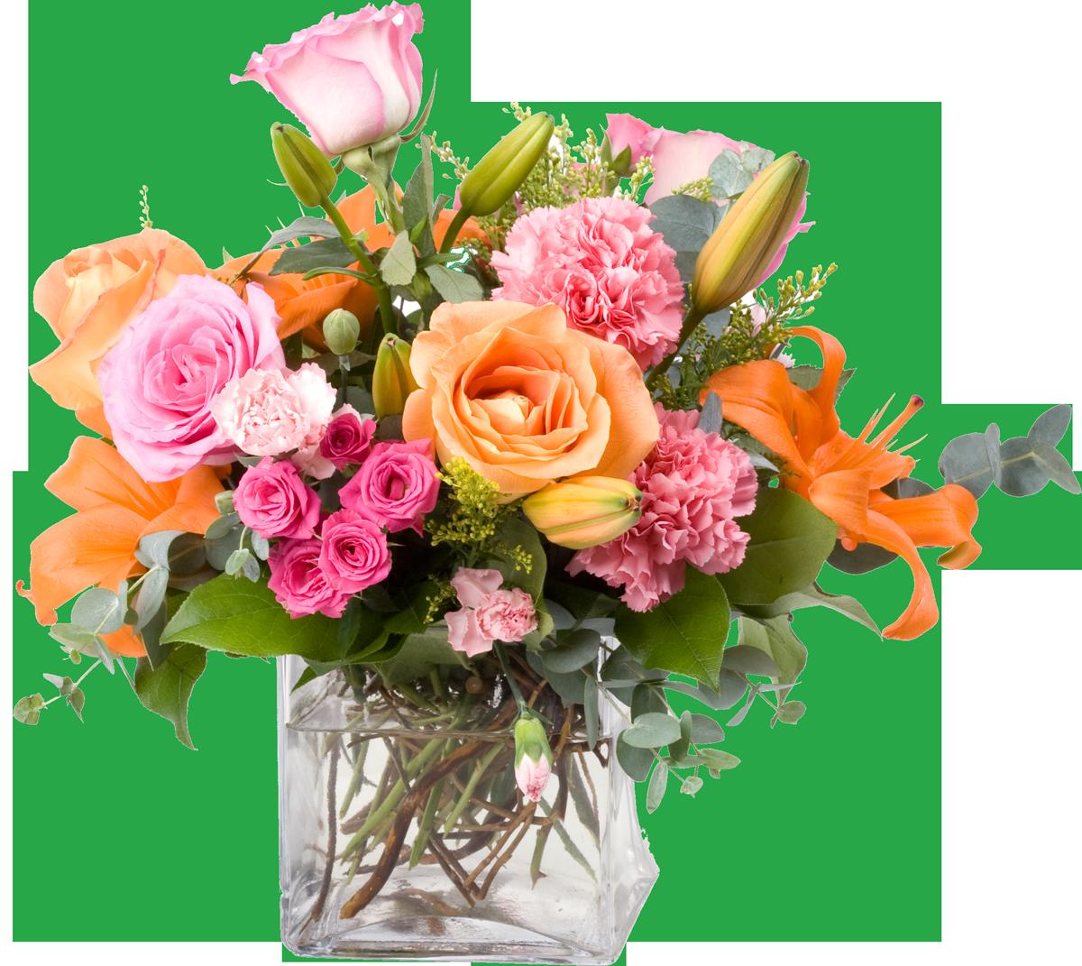 Rosenstrauß Gärtnerei Kirchblüte
